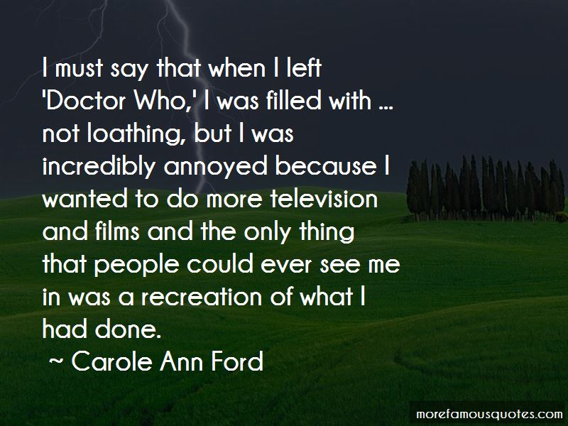 Carole Ann Ford Quotes Pictures 2