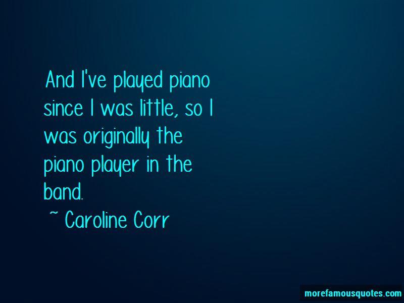 Caroline Corr Quotes Pictures 4