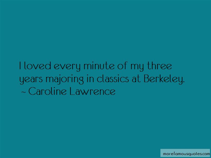 Caroline Lawrence Quotes Pictures 2