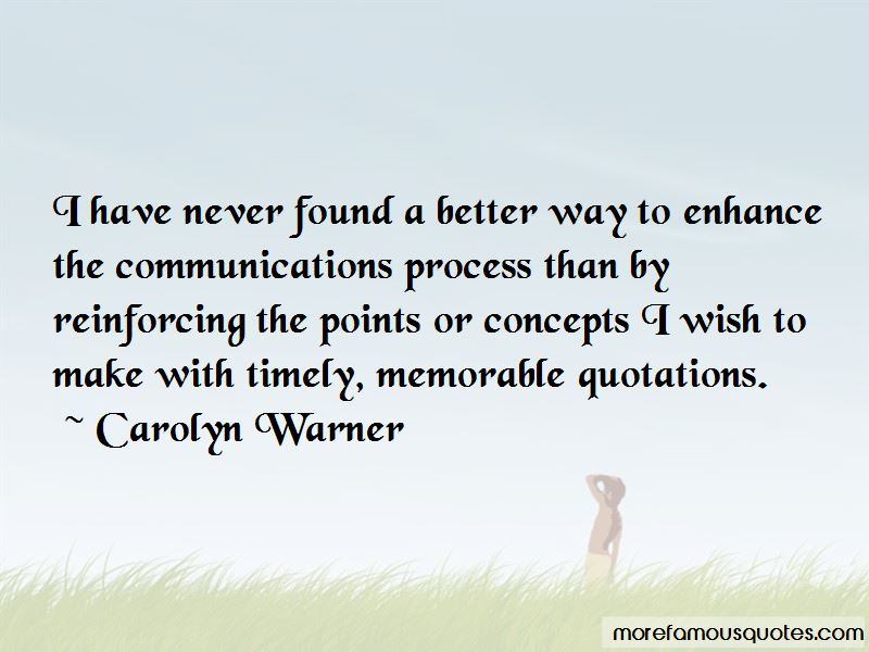 Carolyn Warner Quotes Pictures 2