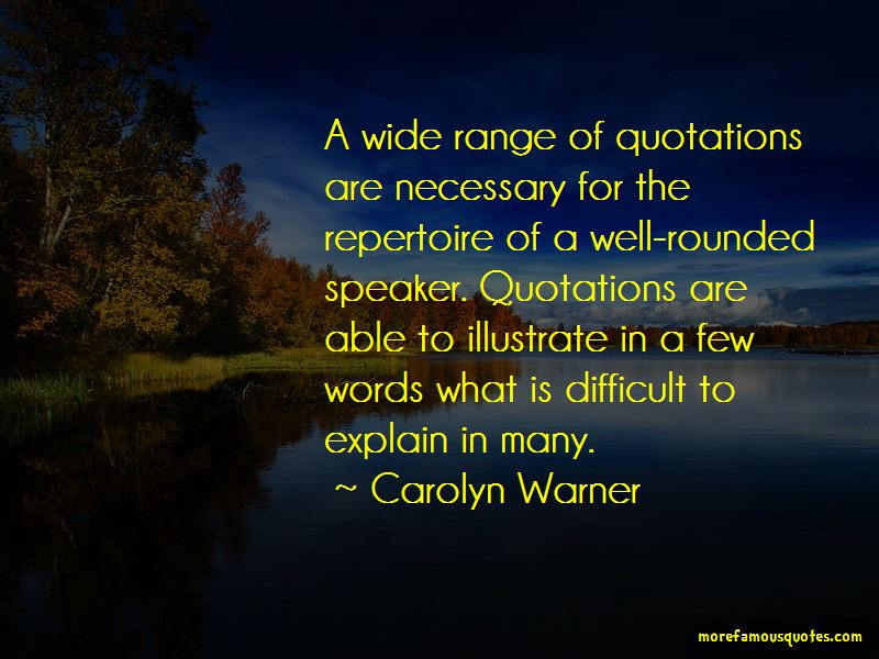 Carolyn Warner Quotes Pictures 3