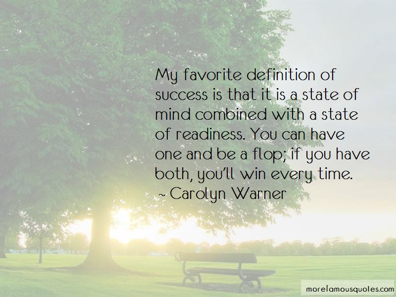 Carolyn Warner Quotes Pictures 4