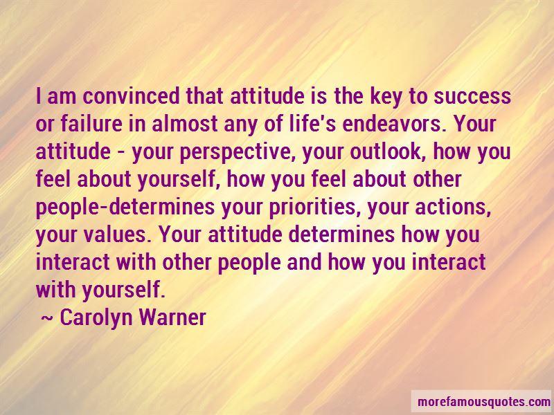Carolyn Warner Quotes