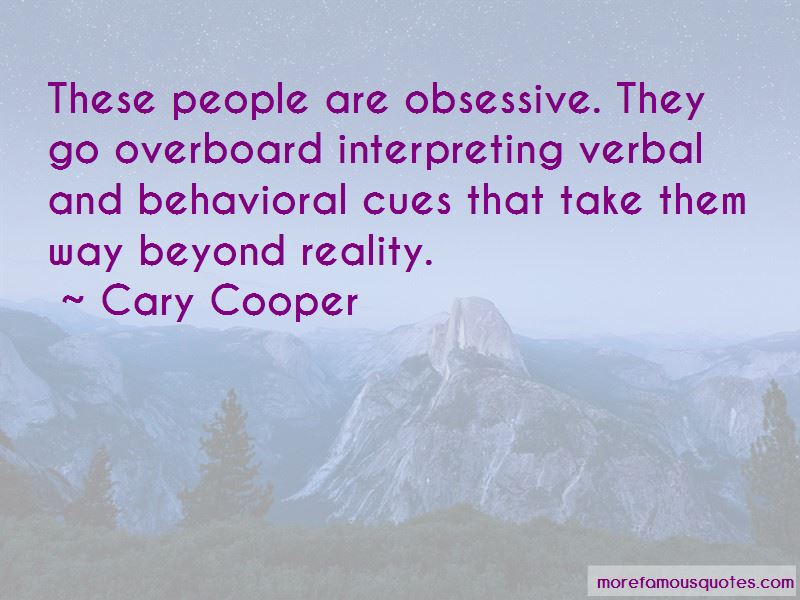 Cary Cooper Quotes