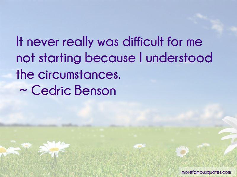 Cedric Benson Quotes Pictures 2