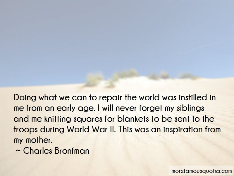 Charles Bronfman Quotes Pictures 2