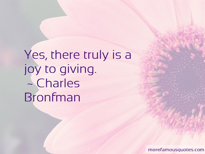 Charles Bronfman Quotes Pictures 3