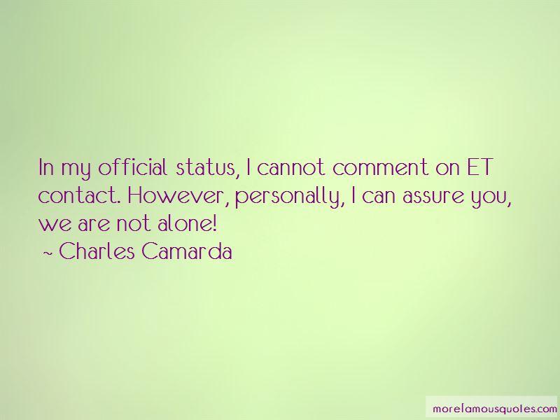 Charles Camarda Quotes