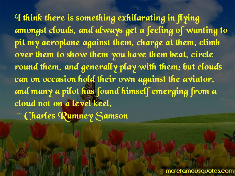 Charles Rumney Samson Quotes Pictures 3