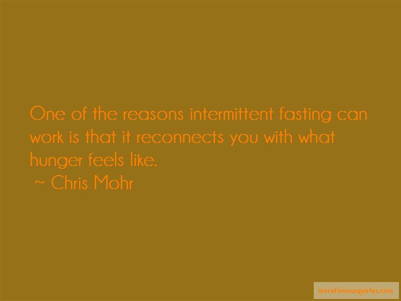 Chris Mohr Quotes Pictures 2