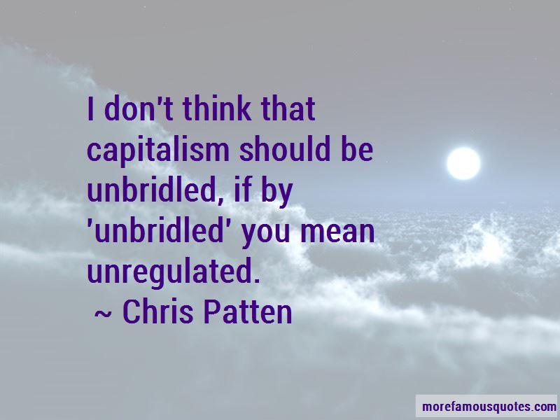Chris Patten Quotes