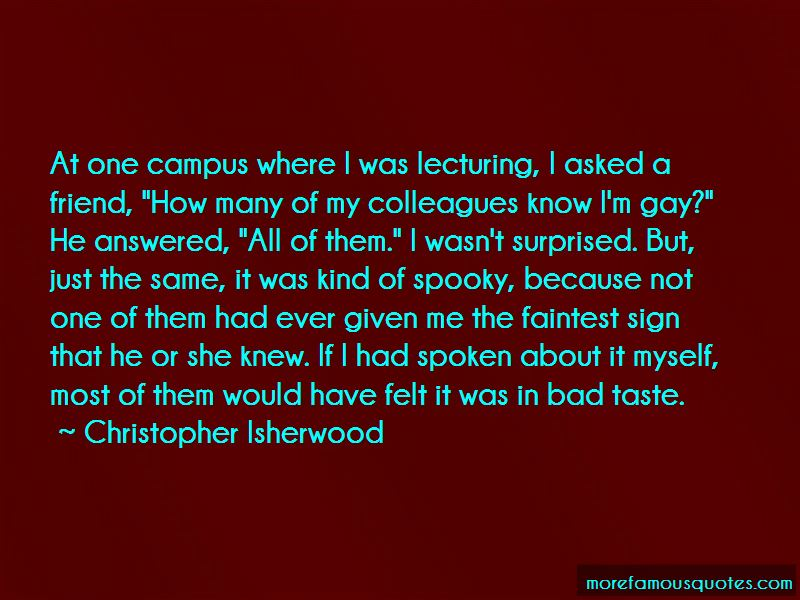 Christopher Isherwood Quotes Pictures 2