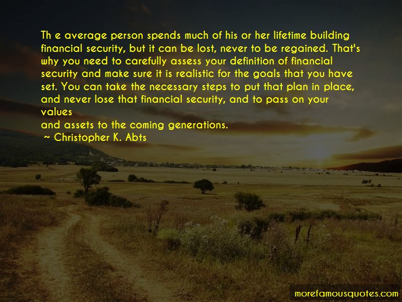 Christopher K. Abts Quotes Pictures 2