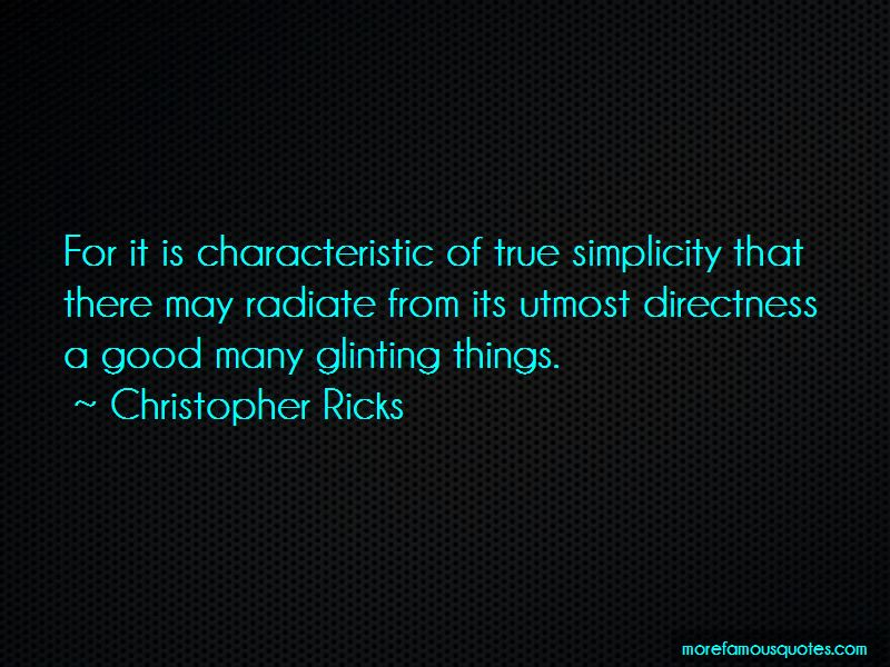 Christopher Ricks Quotes Pictures 3