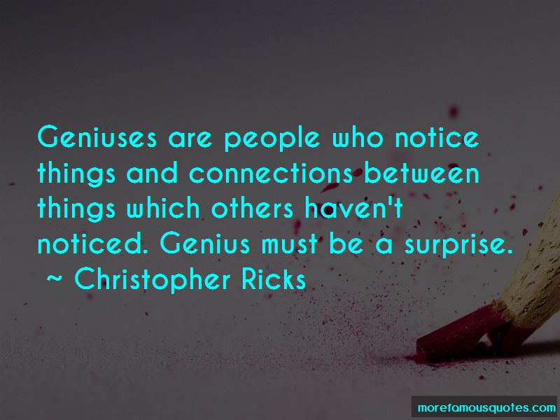 Christopher Ricks Quotes Pictures 4