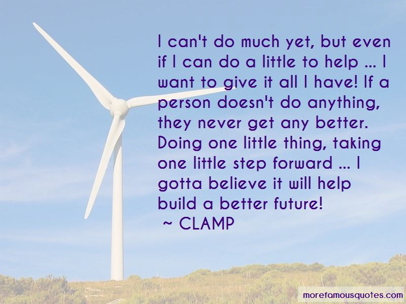 CLAMP Quotes Pictures 4
