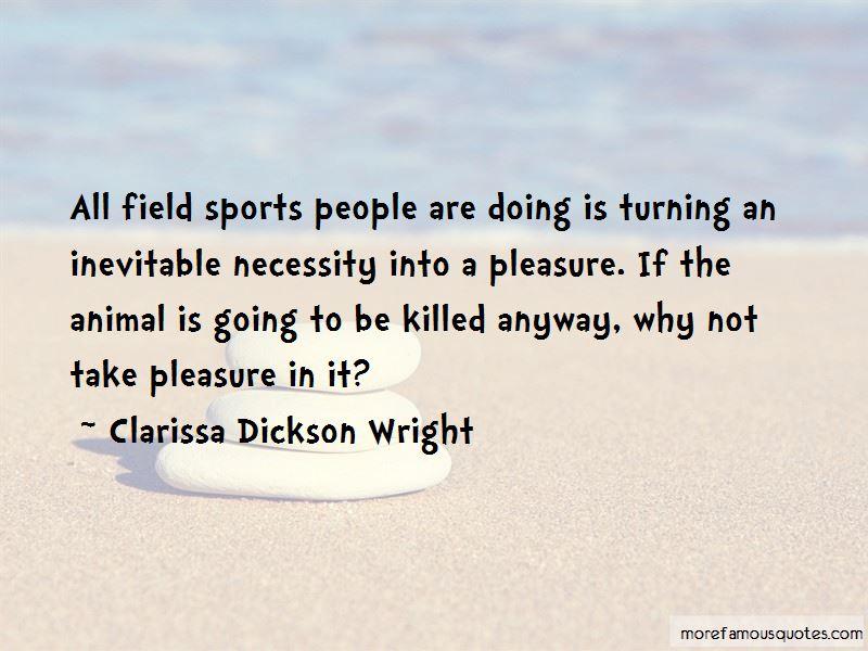 Clarissa Dickson Wright Quotes