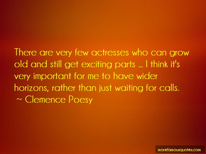 Clemence Poesy Quotes Pictures 2