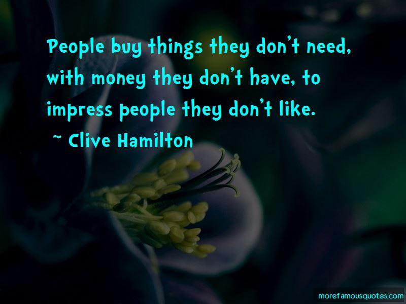 Clive Hamilton Quotes Pictures 3