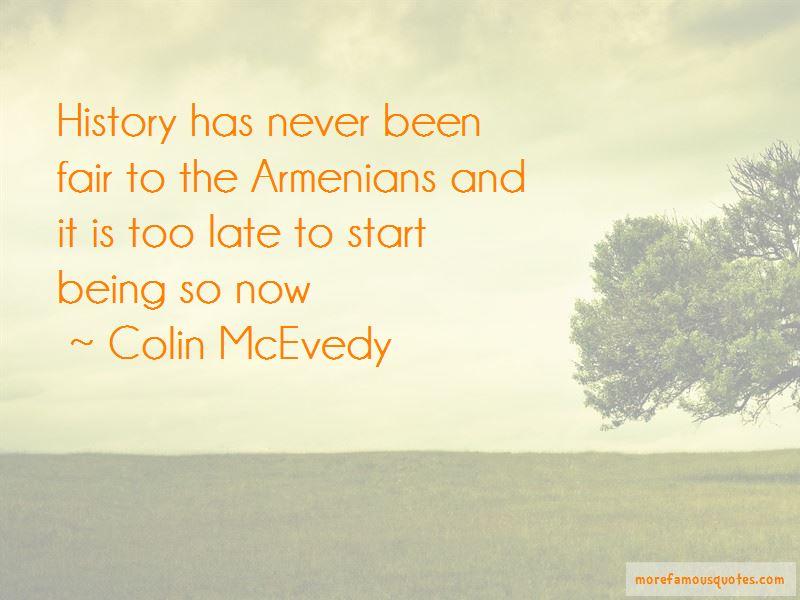 Colin McEvedy Quotes