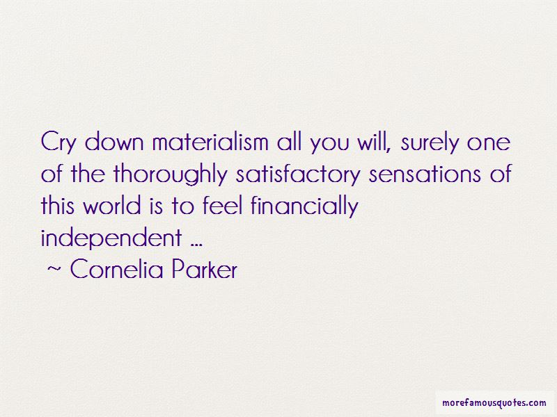 Cornelia Parker Quotes Pictures 2