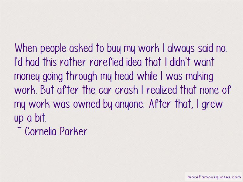 Cornelia Parker Quotes Pictures 3