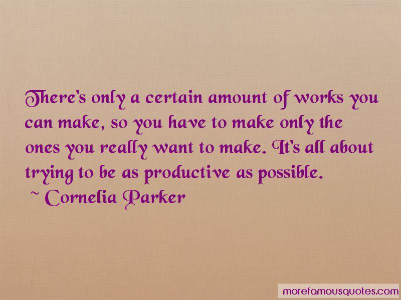 Cornelia Parker Quotes Pictures 4