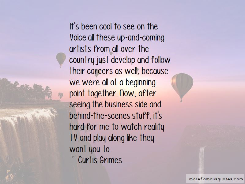 Curtis Grimes Quotes