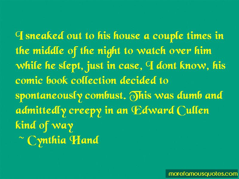 Cynthia Hand Quotes Pictures 2