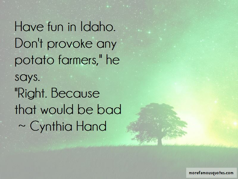 Cynthia Hand Quotes Pictures 3