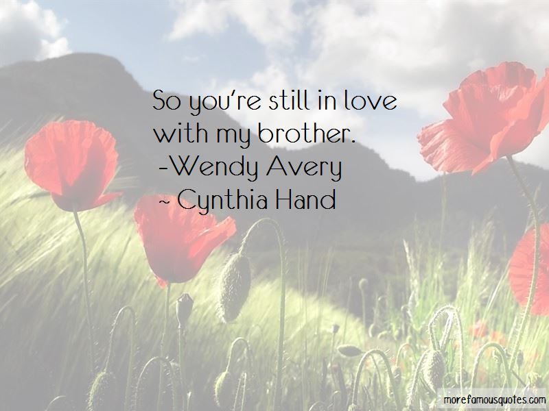 Cynthia Hand Quotes Pictures 4