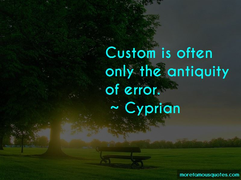 Cyprian Quotes Pictures 3