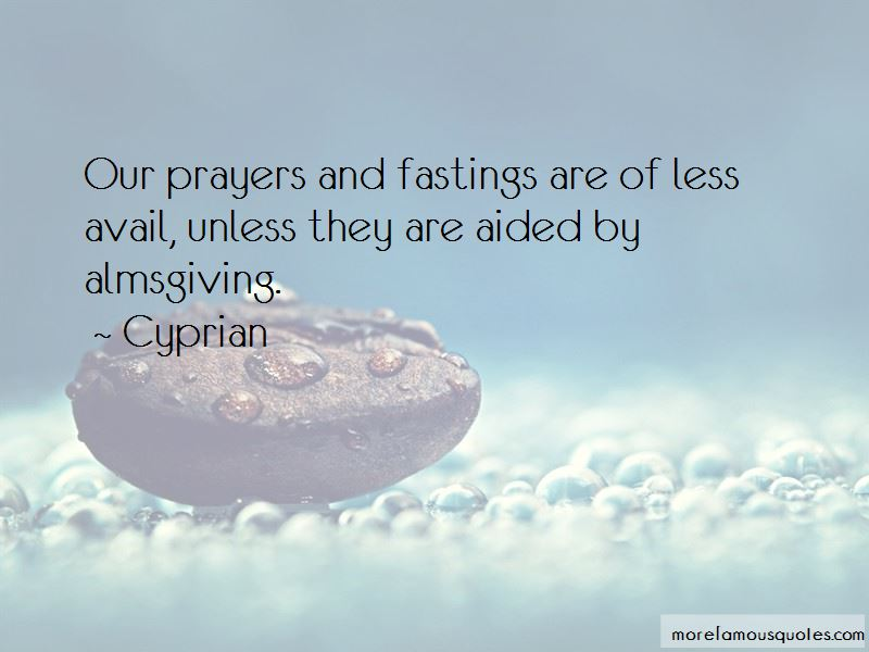 Cyprian Quotes