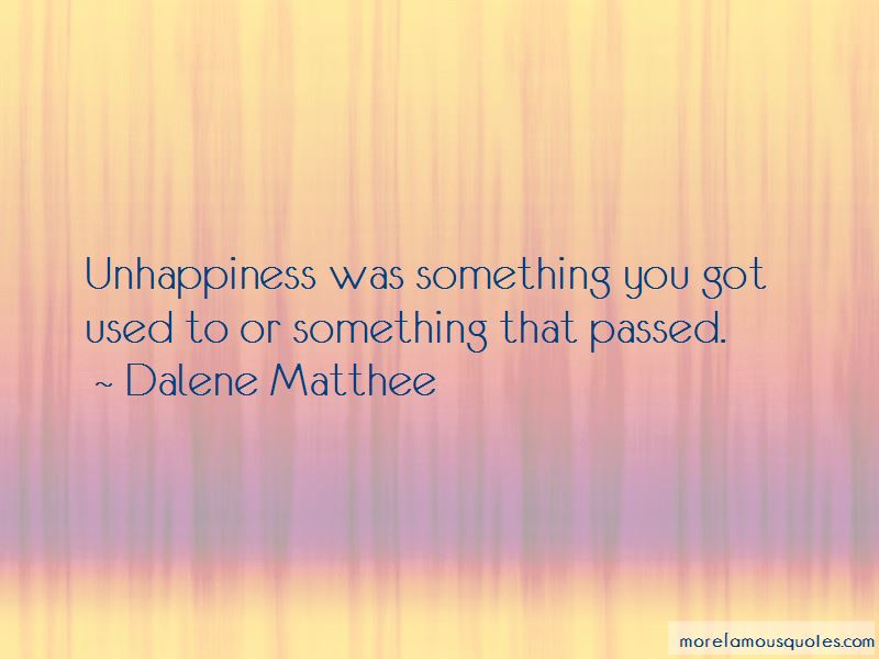 Dalene Matthee Quotes Pictures 4