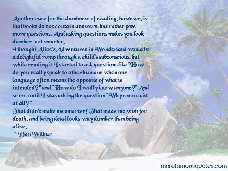 Dan Wilbur Quotes Pictures 4