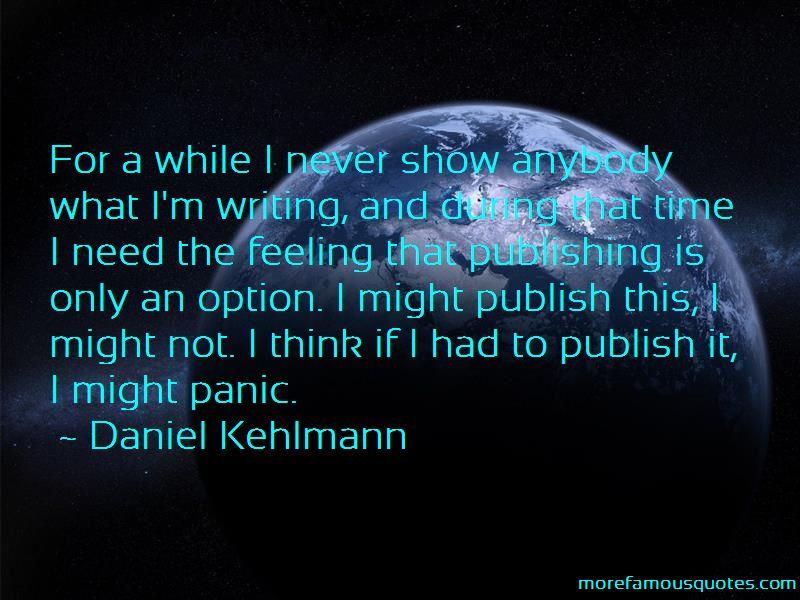 Daniel Kehlmann Quotes Pictures 3
