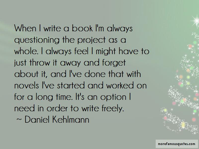 Daniel Kehlmann Quotes Pictures 4