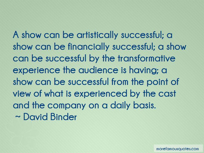 David Binder Quotes Pictures 3