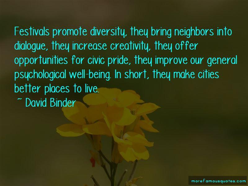 David Binder Quotes