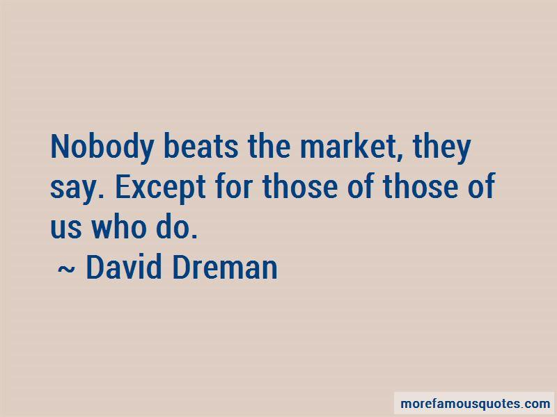 David Dreman Quotes Pictures 2