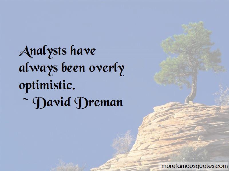 David Dreman Quotes Pictures 3