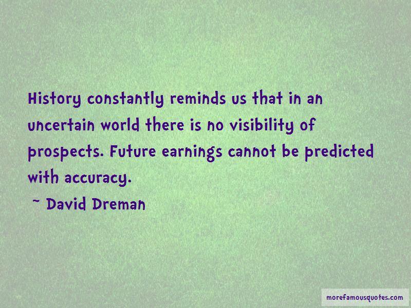 David Dreman Quotes Pictures 4