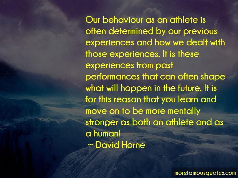 David Horne Quotes