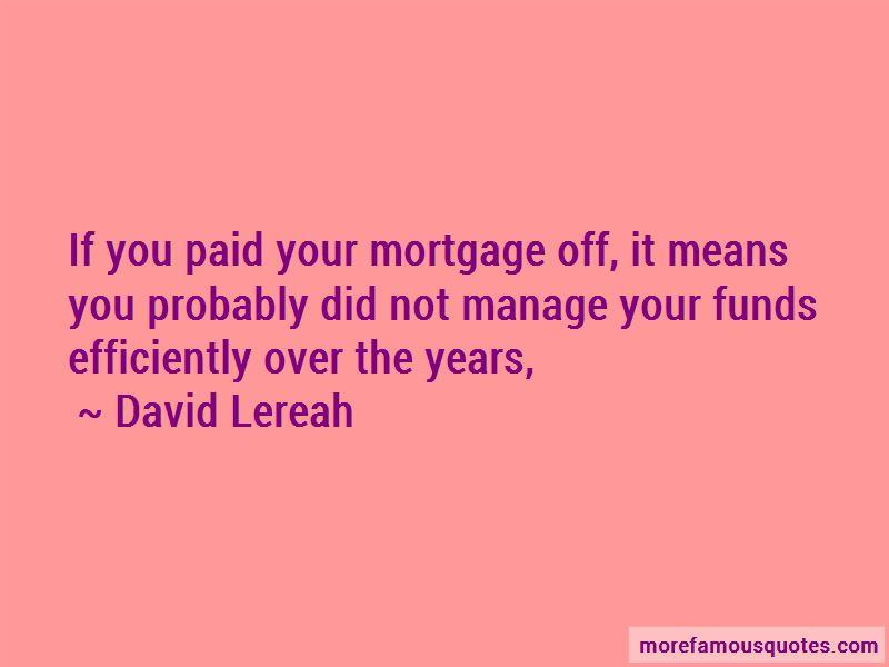 David Lereah Quotes Pictures 3