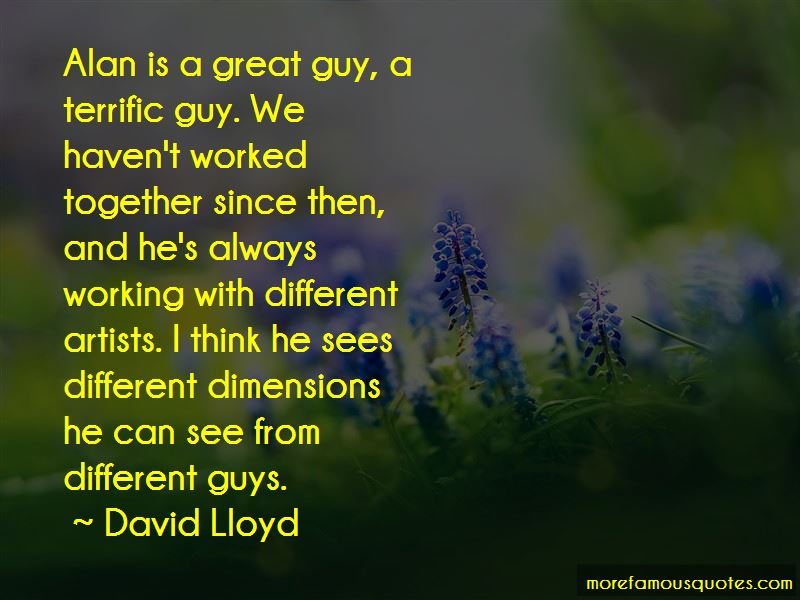 David Lloyd Quotes Pictures 4