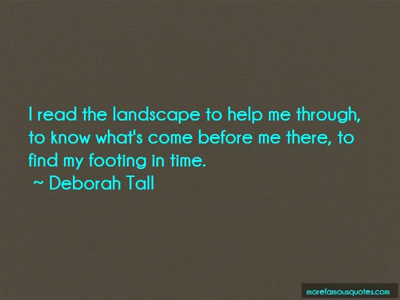 Deborah Tall Quotes Pictures 2