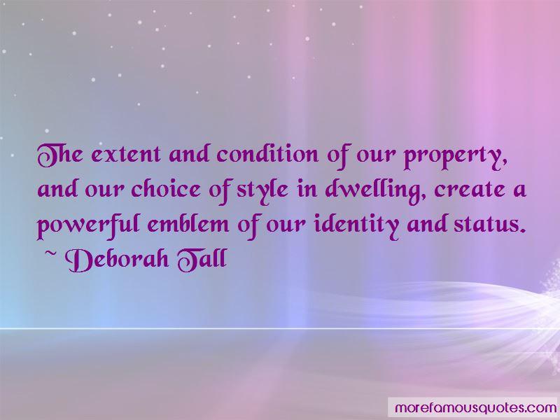 Deborah Tall Quotes