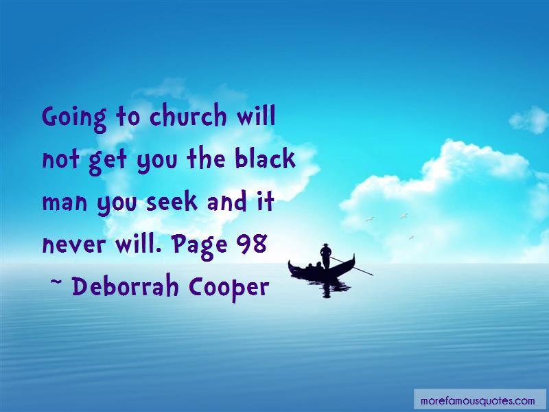 Deborrah Cooper Quotes