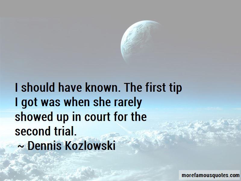 Dennis Kozlowski Quotes Pictures 2