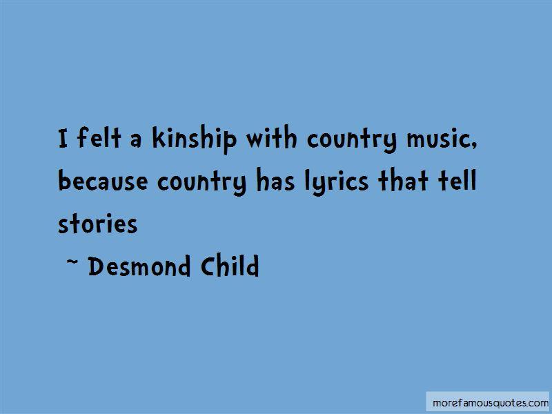 Desmond Child Quotes